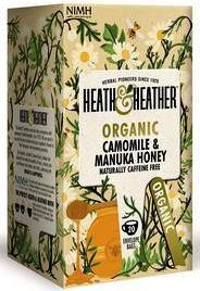 camomile and honey tea