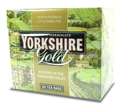 Taylors of Harrogate Yorkshire Gold 80 Tea Bags