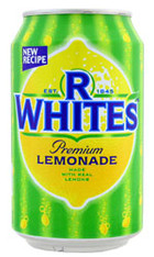 R Whites Lemonade Soda Can 330ml