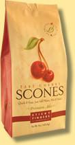 Sticky Fingers English Scone Mix Tart Cherry 1 lb