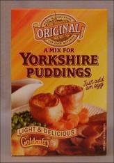 yorkshire pudding mixes