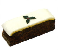 Gold Crown Iced Christmas Cake Bar 400g