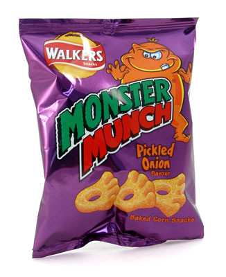 walkers monster munch crisps