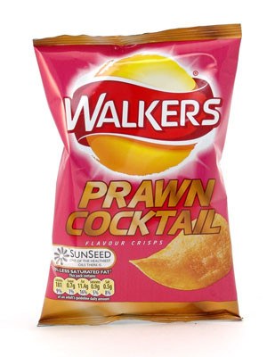 Prawn cocktail crisps from walkers