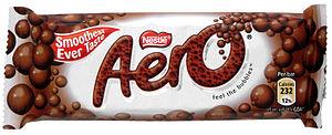 Nestle Aero Milk Chocolate bar
