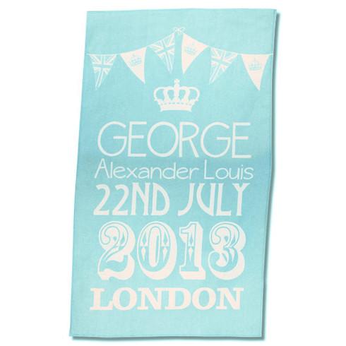 prince George tea towel
