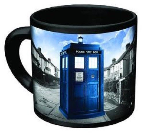 vanishing dr who mug