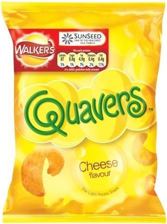 Cheesy quavers