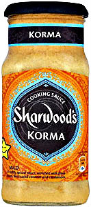 korma by sharwoods