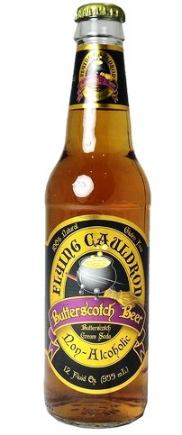 a bottle of butter beer