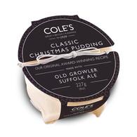 coles christmas pudding
