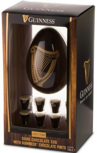 Guinness Dark Chocolate Easter Egg with Truffles