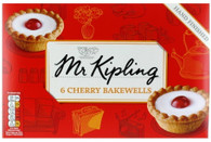 MR Kipling cherry bakewells