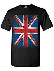 Vintage Black Union Jack T