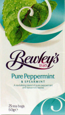 Bewleys Peppermint & Spearmint Tea, 25 Count