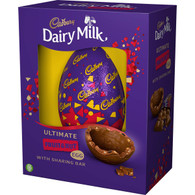 Giant Cadbury Dairy Milk Fruit & Nut Egg 560G