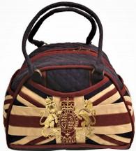 Union Jack Milano Bag w/crest