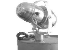Drum mounted fogging machine