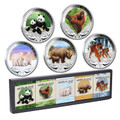 2011/2012 Wildlife In Need 1oz Silver 5-Coin Collection