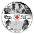 2014 $1 100th Anniv. Red Cross 1oz Silver Proof
