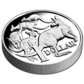 2014 $1 30th Anniversary High Relief 1oz Silver Proof