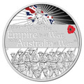 2014 $1 Declaration Of War - WWI 1oz Silver Proof