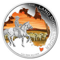2014 $1 Land Down Under – Stockman 1oz Silver Proof