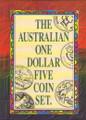 1984-1992 $1 UNC 5 Coin Set