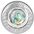 2014 $1 Abalone Shell 1oz Silver Proof