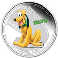 Niue 2014 $2 Mickey & Friends Pluto 1oz Silver Proof