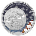 2014 50c Christmas 1/2oz Silver Proof