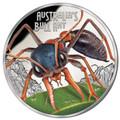 Tuvalu 2015 $1 Bull Ant 1oz Silver Proof