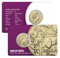 2015  Brisbane ANDA Mob Of Roos'B' Privy Mark Unc  Coin