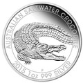 2015 $1 Saltwater Crocodile 1oz Silver Proof