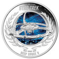 Tuvalu 2015 $1 Star Trek Deep Space 9 1oz Silver Proof