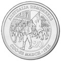 2015 20c Australia Remembers - Cooee March UNC