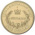 2016 $1 Australias First Mints S Counterstamp UNC