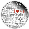 2016 $2 Language of Love 2oz Silver Proof