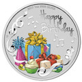 2017 $1 Happy Birthday 1oz Silver Proof