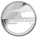 2017 $1 Trans-Australian Railway Silver Proof