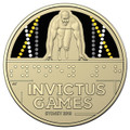 Invictus Games 2018 $1 Al-Br Uncirculated Coin