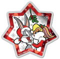 Looney Tunes Christmas 2018 $1 Star-Shaped 1oz Silver Proof Coin