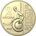 2018 Invictus Games –$2 Circulating Single Coin