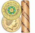 2017 $2 Colored 'Rosemary' Remembrance Day Roll of 25 UNC coins