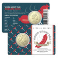 Berlin World Money Fair 2020 $1 Currywurst Privymark Al-Br Unc Coin