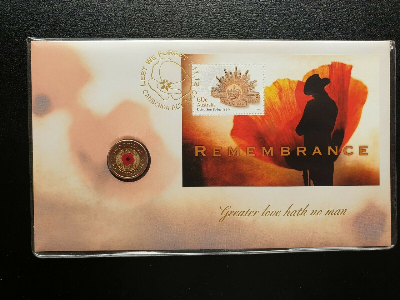 2017 $2 Remembrance PNC