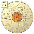 Australia's Firefighters 2020 $2 C Mintmark Uncirculated Coin