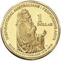 2011 Inspirational Australians - Dame Joan Sutherland- $1 Al/Br Uncirculated Coin