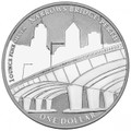 2011 Perth ANDA – Narrows Bridge $1 Silver Frunc