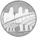 2011 Perth ANDA – Narrows Bridge $1 Silver Frunc